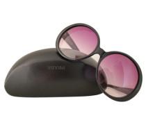 Second Hand Schwarze Sonnenbrille