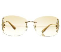 Second Hand Sonnenbrille mit Cut-Outs