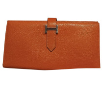 Second Hand  Bearn Brieftasche in Orange