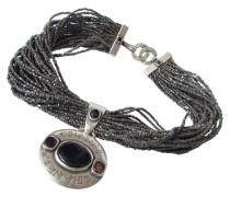 Second Hand CHANEL GRIPOIX doppelseitige Medaillon Kette Halskette