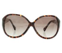 Second Hand Sonnenbrille mit Schildpattmuster