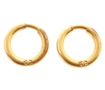 Second Hand Ohrring in Gold
