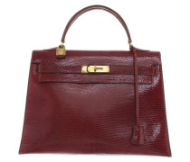 "Second Hand  ""Kelly bag 32"" aus Eidechsenleder"