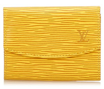 Second Hand  Portemonnaie aus Epi Leder