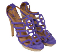 Second Hand High Heels Wildleder in Lila