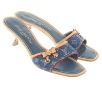 Second Hand Sandaletten mit Muster