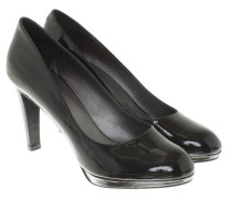 Second Hand  Lacklederpumps in Schwarz