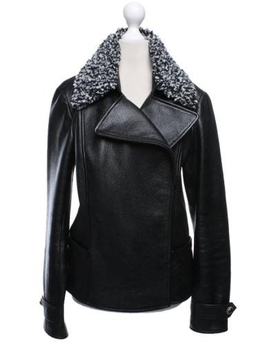 Second Hand  Jacke/Mantel aus Leder