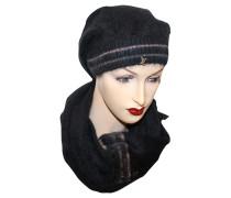 Second Hand Set aus Schal und Mütze