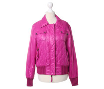 Second Hand Steppjacke in Pink