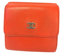 Second Hand Brieftasche in Orange