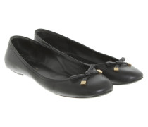 Second Hand  Ballerinas aus Leder