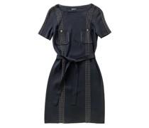 Second Hand Kleid aus Baumwolle in Schwarz