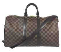 "Second Hand ""Keepall 45 Damier Ebene Canvas"""