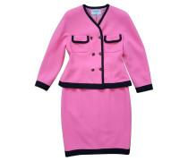 Second Hand Kostüm in Pink und Schwarz