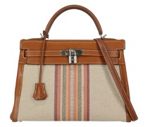 Second Hand Kelly Bag 32 in Braun