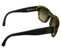 Second Hand Sonnenbrille in Khaki