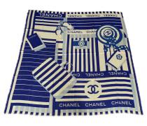 Second Hand Schal / Schal in Blau