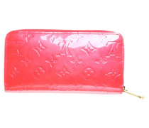 Second Hand  Lackleder Portemonnaie in Rot