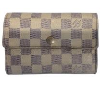 Second Hand Damier Azur Brieftasche