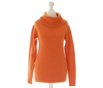 Second Hand Rollkragenpullover in Orange