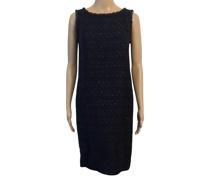 Second Hand Kleid aus Wolle in Blau
