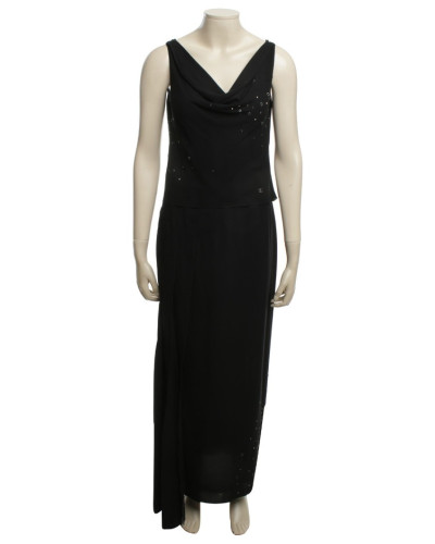 Second Hand  Kleid mit Paillettenbesatz