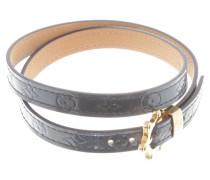 Second Hand Armband in Metallic-Blau
