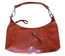 Second Hand  Handtasche aus Lackleder