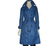 Second Hand  Blauer Trenchcoat