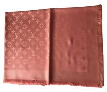 Second Hand Monogram-Schal in Rosa