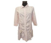 Second Hand  Kleid in Rosé/Weiß