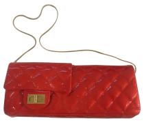 Second Hand Rote Abendtasche