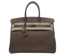 Second Hand Birkin Bag 35 Etoupe