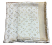 Second Hand  Monogram-Shine-Tuch Beige/Gold