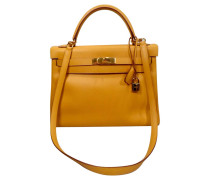 Second Hand Kelly Bag 32 Jaune Epsom Leather