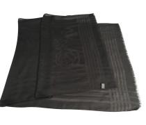 Second Hand Schwarz-transparenter Schal