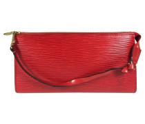 Second Hand  Pochette Accessoires Epi Leder Rot
