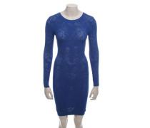 Second Hand  Strickkleid in Blau
