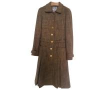 Mantel Wolle Beige