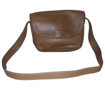 Second Hand Handtasche Leder Kamel