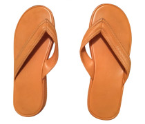 Second Hand Leder flip-flops