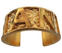 Armband Matelassé Goldplattiert Golden
