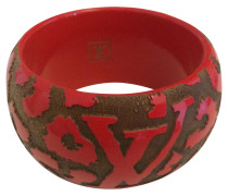 Armband Holz Rot
