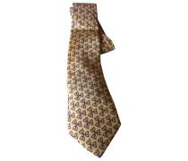 Second Hand Krawatte Seide Gelb