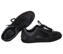 Second Hand Sneakers Veloursleder Schwarz