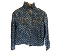 Second Hand Jacke,  Mantel Denim - Jeans Blau