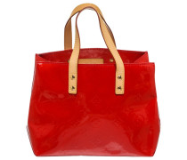 Lackleder shopper