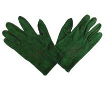 Second Hand Samt Handschuhe