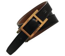 Second Hand Boucle / Buckle Leder Gürtel